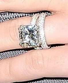 Celebrity Engagement Rings on Pinterest   Celebrity ...