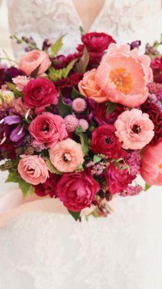 Floral Wedding, Wedding Bouquets, Wedding Flowers, Love Flowers, Beautiful Flowers, Coral Charm Peony, Astilbe, Spray Roses, Summer Wedding