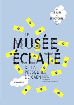 Musée éclaté de la Presqu'île de Caen | Jardin Graphique | France | 2013