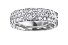 Pure White Gold cocktail ring. These stunning designs are manufactured in nickel-free 18kt gold palladium  alloy that allows the jewellery to maintain that bright, white, platinum  like colour for years to come.