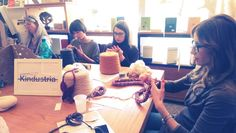 Finger Knitting con Gaia Segattini
