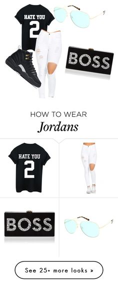 """""""Untitled #10"""" by joejames on Polyvore featuring NIKE, Michael Kors and Milly Sporty Outfits, Dope Outfits, Swag Outfits, Outfits For Teens, New Outfits, Stylish Outfits, School Outfits, Fashion Outfits, Cute Jordans"""