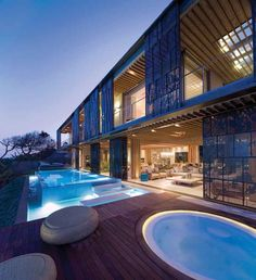 La Lucia -Durban, South Africa   A project by: SAOTA - Stefan Antoni Olmesdahl Truen Architects