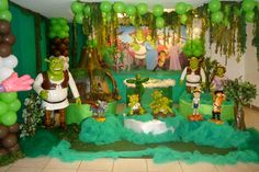 Shrek Theme | Shrek Party Decoration | Tips Kids Party - Ideas, Themes, Decorations ...