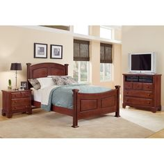 Vaughan-Bassett Hamilton Franklin 3 Drawer Nightstand & Reviews | Wayfair