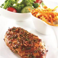 Poulet rôti à la portugaise, frites de patates douces Appetizer Recipes, Appetizers, Culinary Arts, Mashed Potatoes, Macaroni And Cheese, Meal Prep, Bbq, Nutrition, Kitchen