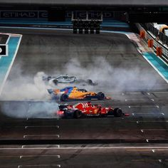 Abu Dhabi last year. what a special moment 12 Championships between three drivers. And 30 Constructors Championships between them. Hamilton, Vettel, Fernando Alonso) last race is this weekend, one last time F1 Racing, Drag Racing, Sport Cars, Race Cars, Ferrari F12berlinetta, Ferrari World, Formula 1 Car, Mclaren F1, Nissan 370z