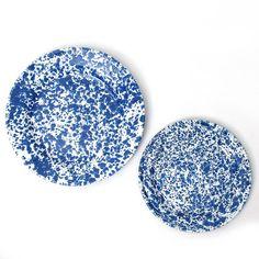 Enamelware / Blue Marble