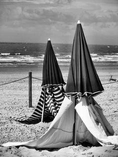 matin sur la plage ...