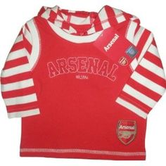 Baby arsenal hooded top