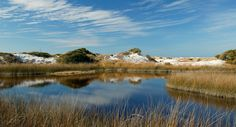 Coastal Dune Lake in Grayton Beach,  Florida in SoWal on 30A