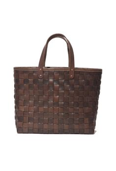 wantering:  Stanley amp; Sons Woven Leather Tote