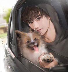 Chelpyu nim's fanart of Taeyong Lee Taeyong, Beijing China, K Pop, Nct 127, Manga Art, Anime Art, Cartoon Fan, Korean Art, Guy Drawing