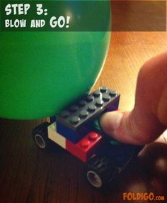 Step 3 | Balloon powered LEGO® car