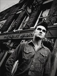 #Morrissey   By Paul Spencer  Whitechapel, London 2000