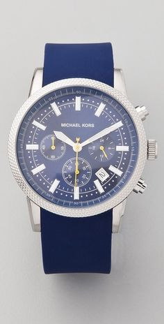 Shop for Scout Chronograph Watch by Michael Kors at ShopStyle. Cheap Michael Kors, Michael Kors Watch, Azul Real, Mk Watch, Nautical Fashion, Turquoise, Swagg, Luxury Watches, Chronograph