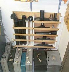 Spruced Up Shop Vac Storage Garage And Workshop