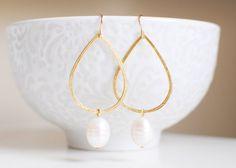 Jewel Earrings - Gold