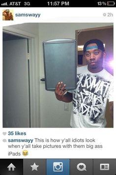 """La Selfie con el """"iPad"""":"""
