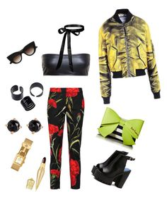 Sin título #48 by lzz33 on Polyvore featuring polyvore, fashion, style, Love Leather, Dolce&Gabbana, Betsey Johnson, Tory Burch, Irene Neuwirth, E L L E R Y, Christian Louboutin and clothing