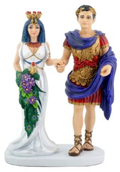 Marc Anthony and Cleopatra Wedding Cake Topper