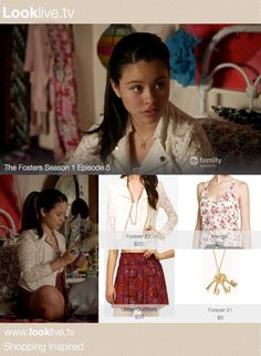 mariana foster outfits | The Fosters