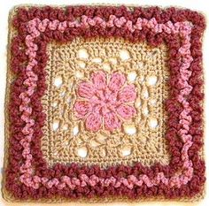 "Duchess - 12"" Square pattern by Melinda Miller"