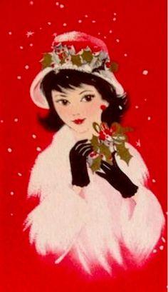 Pretty Christmas Miss.
