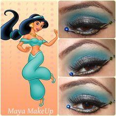 Disney Princesses - Glam Express Jasmine + Información sobre nuestro CURSO: http://curso-maquillaje.es/msite-nude/index.php?PinCMO