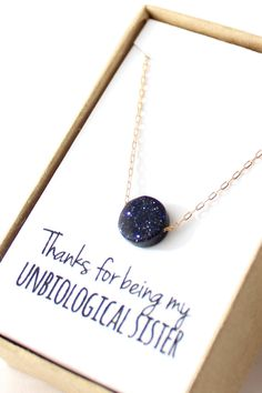{this is the most beautiful necklace i've ever seen ever.} | Midnight Blue Pendant Necklace  Delicate Gold by powderandjade, $22.00