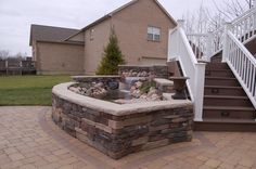 Image result for brick water feature designs