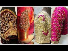Latest Bridal Pattu Saree Blouse Designs | Designer Saree Blouses - YouTube