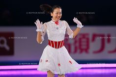 Mao Asada (JPN), APRIL 14, 2013 - Figure Skating : the ISU World team Trophy Figure Skating Championships, the GALA Exhibition at Yoyogi 1st Gymnasium, Tokyo, Japan. (Photo by AFLO SPORT).