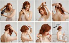 holiday hair, hair tutorials, braid, dry hair, lock