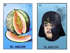 If It's Hip, It's Here: Star Wars + Mexican Loteria Cards = Space Loteria