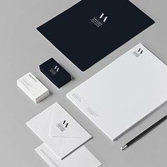 Branding and web design for a law firm based in Andalucia, Spain. Corporate Identity Design, Corporate Stationary, Stationary Design, Brand Identity Design, Brand Design, Graphisches Design, Logo Design, Letterhead Design, Law Firm Logo