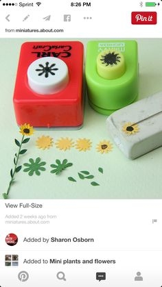 how to make tiny paper flowers