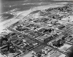 OCEAN BEACH, SD CA, 1946, VIA VINTAGE POINT LOMA & OCEAN BEACH.