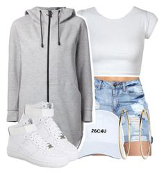 """he got you chasin water falls"" by queen-tiller ❤ liked on Polyvore featuring THE RERACS and NIKE"