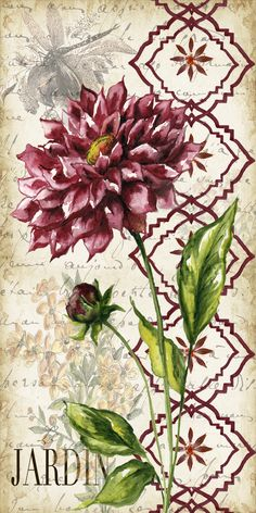 Bead Embroidery Kit Dahlia Flowers DIY Beadwork kit Beading kit Hand embroidery Embroidery of beads Beads Stitching Butterfly Flowers, Flower Art, Dahlia Flowers, Embroidery Kits, Beaded Embroidery, Stencil, Decoupage Paper, Vintage Cards, Vintage Flowers