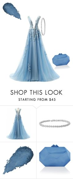 """💙"" by aya-rosee ❤ liked on Polyvore featuring Elie Saab"