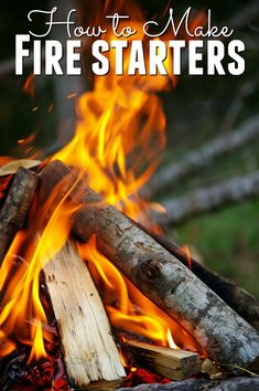 Getting a fire started can be an art form you can make it much easier