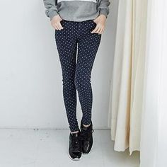 Buy 'LULUS – Polka Dot Skinny Jeans' with Free International Shipping at YesStyle.com. Browse and shop for thousands of Asian fashion items from Taiwan and more!