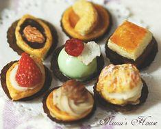 *プチフール* - *Nunu's HouseのミニチュアBlog*           1/12サイズのミニチュアの食べ物、雑貨などの制作blogです。