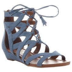 7fef9eb0b Women s Madeline Saturate Gladiator Sandal Blue Textile