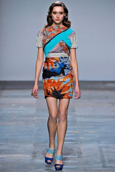 Michael van der Ham Fall 2012 Ready-to-Wear Fashion Show - Tabea Weyrauch