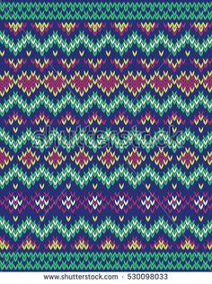 Tapestry Crochet Patterns, Cross Stitch Patterns, Knitting Patterns, Knitting Charts, Knitting Socks, Punto Fair Isle, Fair Isle Pattern, Ethnic Patterns, Fair Isle Knitting