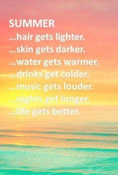 love summer!!!!!! 私の髪は夏でも黒いままだけどね❤︎