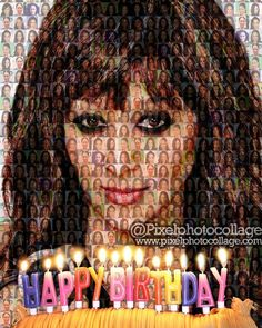 Pixel Photo Collage Wishes 💝💝 💝💝💝 💝💝💝💝 a very Happy Birthday! Pixel Photo, February Birthday, Photo Mosaic, Very Happy Birthday, Happy B Day, Blessing, Birthdays, Photo Gifts, Collage