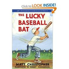 Baseball is fun to read about year round! The Lucky Baseball Bat  $4.99